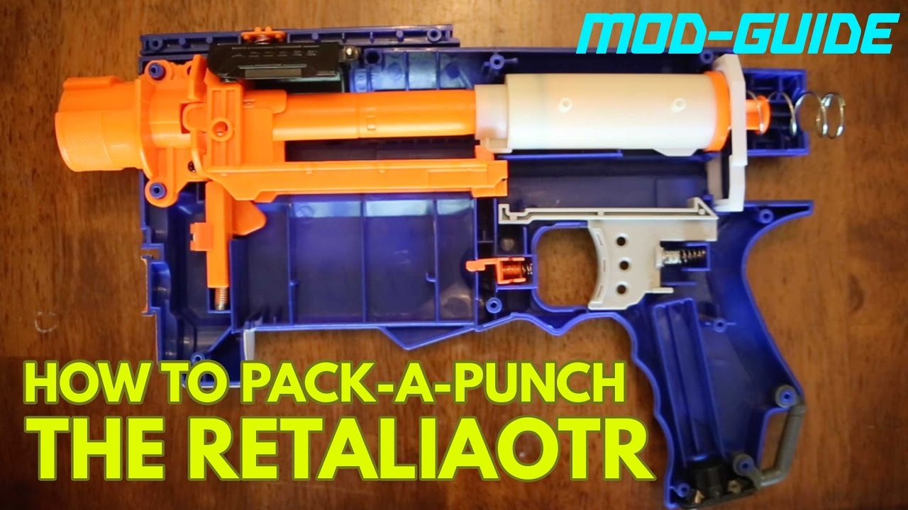 How to Pack-a-Punch the Retaliator! Simple Nerf Mod Guide
