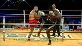 Patrice Quarteron vs. Marcin Rozalski - KO Brutal Fracture du crane - A1 World Combat Cup