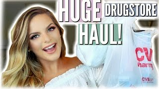 WHATS NEW AT THE DRUGSTORE! HUGE Makeup Haul! | Casey Holmes