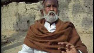History of sindh and purano Gachero(Interview of Allah Rakhio channa) part1