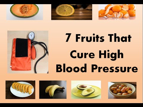 7 Fruits That Cure High Blood Pressure - YouTube