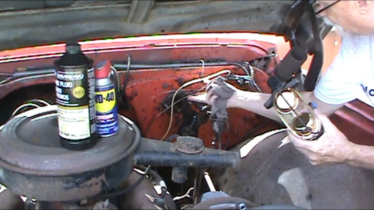 1968 chevy truck c20 how to install a brake master cylinder [ 1280 x 720 Pixel ]
