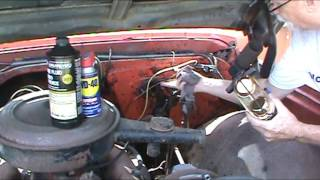 1968 Chevy Truck C20 How to install a Brake Master Cylinder
