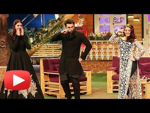 Ranbir Kapoor, Aishwarya Rai and Anushka Sharma On The Kapil Sharma Show