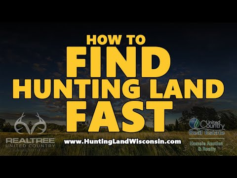 Wisconsin Hunting Land For Sale