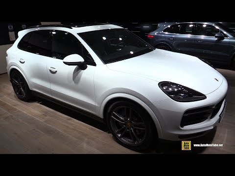 2018 Porsche Cayenne S - Exterior and Interior Walkaround - 2017 Frankfurt Auto Show