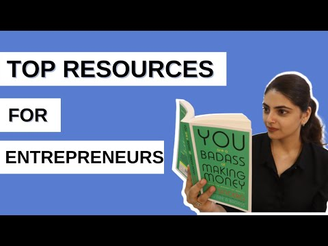 TOP RESOURCES FOR ENTREPRENEURS || RESOURCES of BOOKS, PODCAST || FREE RESOURCES for ENTREPRENEURS