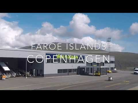 WHY I FLY - Return trip Faroe Islands Copenhagen What a view 4K Welcome to SHARE