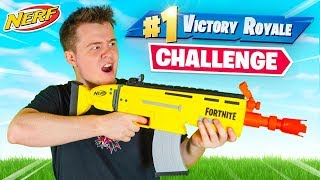 The Fortnite NERF GUN Challenge!