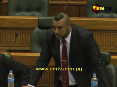 Missing PNG Kina Bank Notes Discussed in Parliament