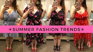 Summer Fashion Trends Try-On w/ Express | Curvy Style