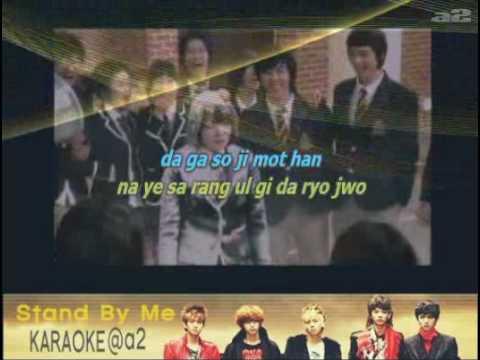 "@a2[Karaoke] ""Stand by Me"" (Shinee)  [Easy Rom Lyrics]"