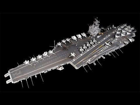Tamiya 1/350 USS Enterprise CVN-65 build review