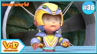 Vir: The Robot Boy In English | Action Shows For Kids | 3D Cartoon | Factorid Attack | Wow World