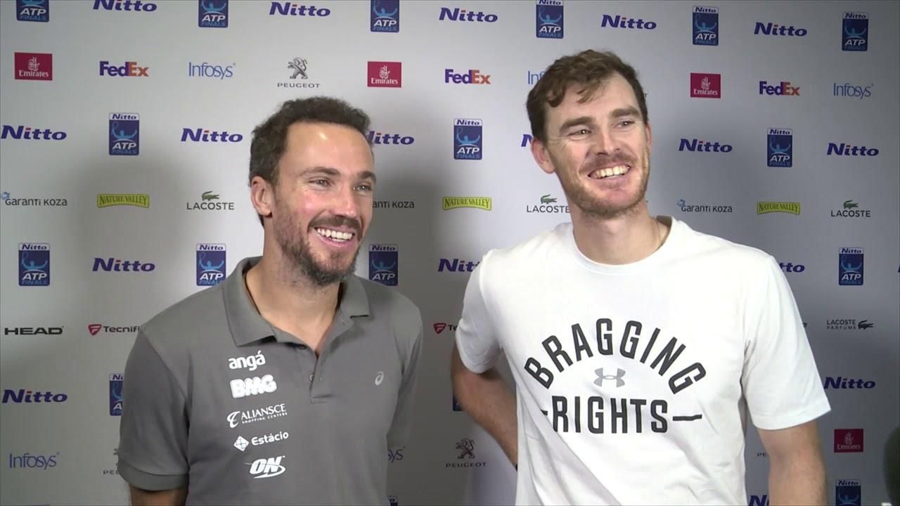 Murray/Soares Reflect On Unbeaten Group Run At The Nitto ATP Finals 2018
