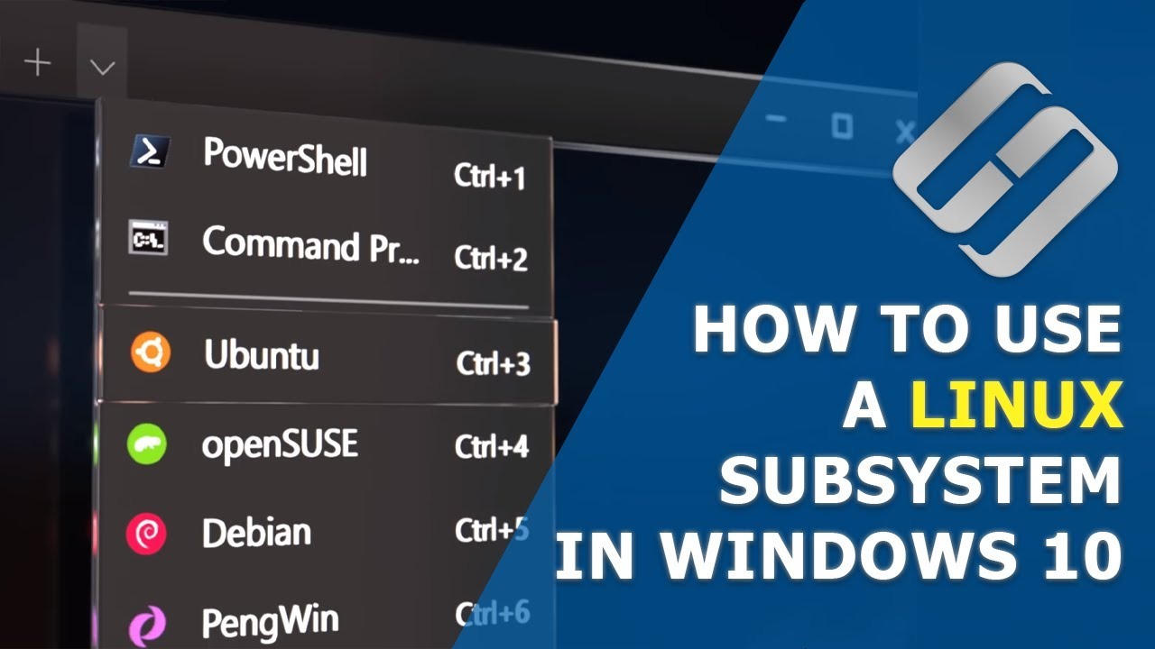 ▶️ How to Install, Configure and Use a Linux Subsystem in Windows 10 🔟 The Updated Windows Terminal