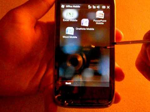 HTC Touch Pro 2 - Windows Mobile 6.5 básicos