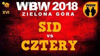 bitwa SID vs CZTERY # WBW 2018 Zielona Góra (1/8) # freestyle battle