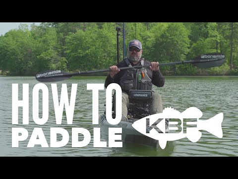 How to Paddle a Fishing Kayak   Sit On Top