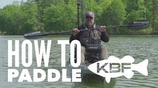 How to Paddle a Sit On Top Fishing Kayak