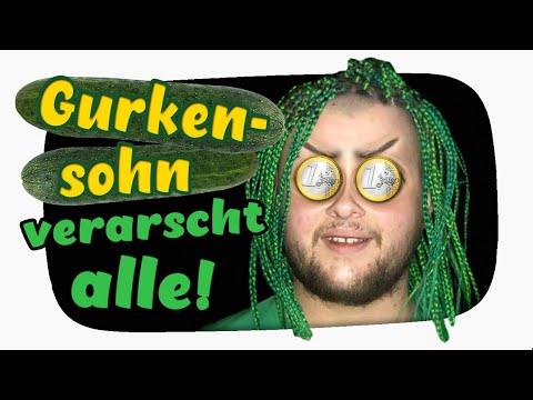 Wie GURKENSOHN alle VERARSCHT und nicht bezahlt - Kuchen Talks #433