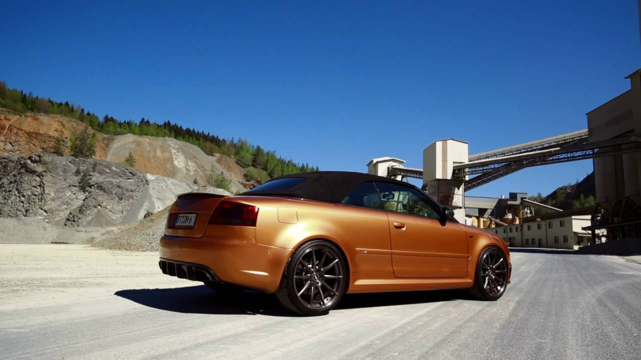 Audi A4 Wheels >> CDC Performance RS4 B7 Cabrio -Carbon Edition- - YouTube