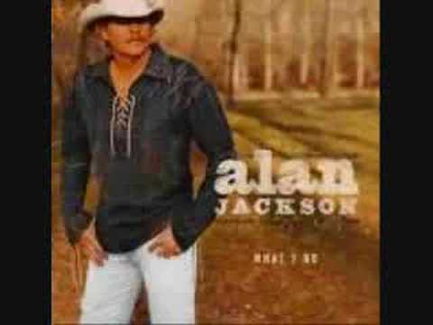 Alan Jackson - There Goes Lyrics | MetroLyrics
