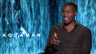 Yahya Abdul Mateenii Interview for Aquaman