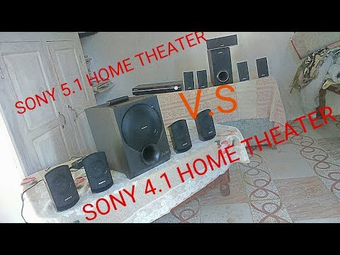 Surround sound test in home theater & sound comparison 21,41,51 home theater in hindi