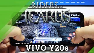 Gaming Quality Checkup on Vivo Y20s - Riders of Icarus Gameplay