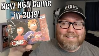New N64 Game in 2019?! 40 Winks for Nintendo 64