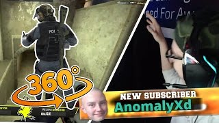 STREAM HIGHLIGHT #1 SJUKASTE 360 NOSCOPEN!?