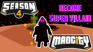 👿HOW TO BECOME SUPER VILLAIN!👿 | Mad City | Roblox