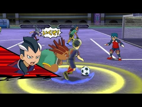 Inazuma Eleven Go Strikers 2013 Fifth Sector Vs Little Gigant Wii 1080p (Dolphin/Gameplay)