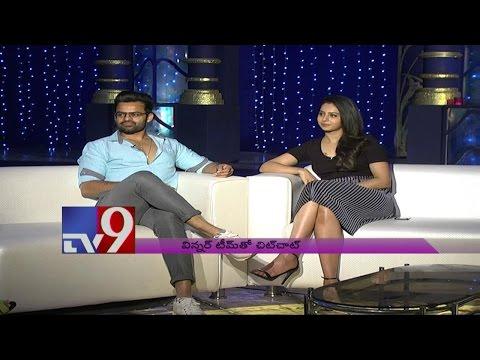 "Rakul Preet Singh & Sai Dharam Teja on ""Winner"" - TV9"