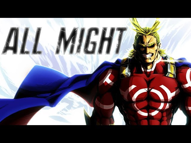 ALL MIGHT : Le PLUS GRAND SUPER-HÉROS du JAPON !?