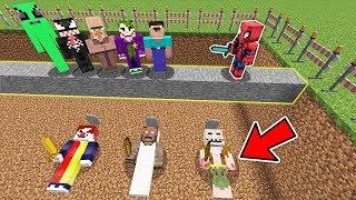 ÖLÜRSEN KORKUNÇ MEZARA DÜŞERSİN! - Minecraft