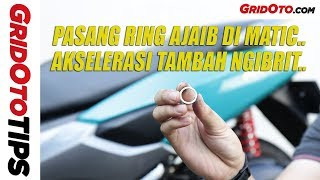 Cara Pasang Ring di Pulley Motor Matic | How To | GridOto Tips