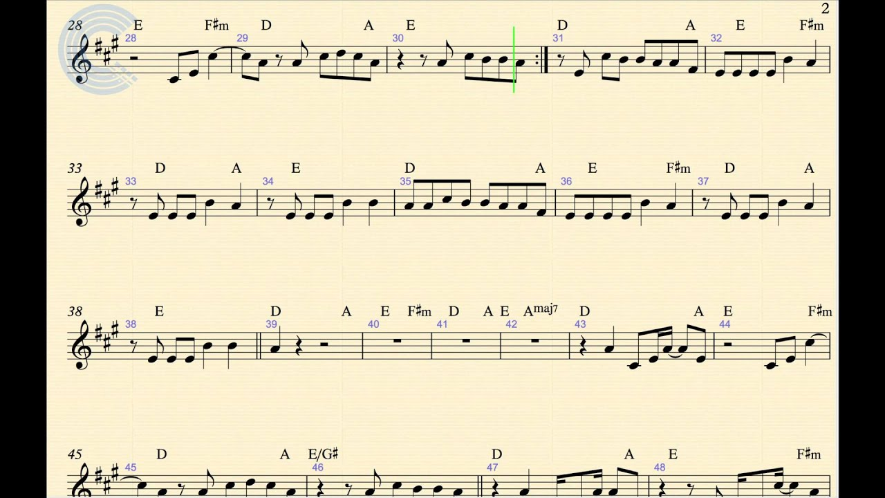 Clarinet - Call Me Maybe - Carly Rae Jepsen - Sheet Music, Chords, and Vocals - YouTube
