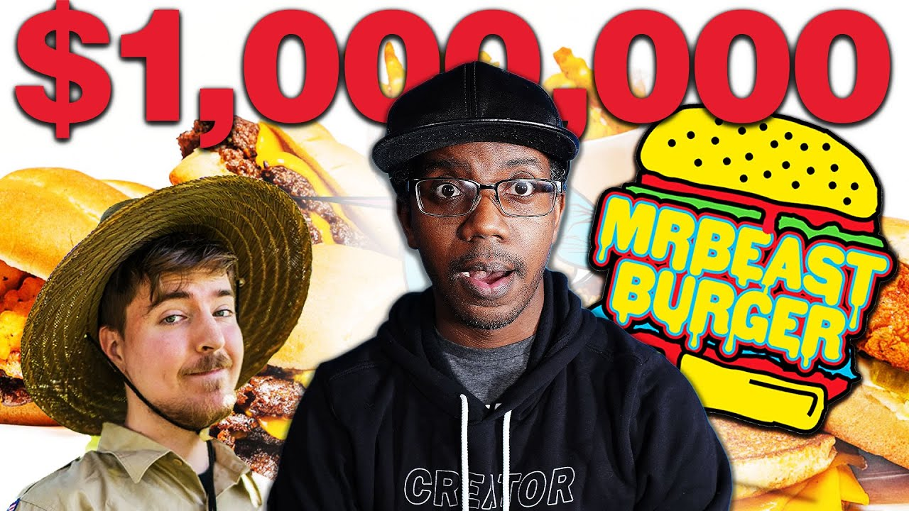 HOW THE MRBEAST BURGER IS MAKING MILLIONS!!! 🤑 - YouTube