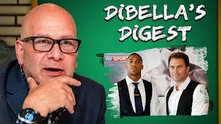 Anthony Joshua vs Kubrat Pulev WITH FINE CHAMPAGNE is an INTELLIGENT THOUGHT | DiBella's Digest