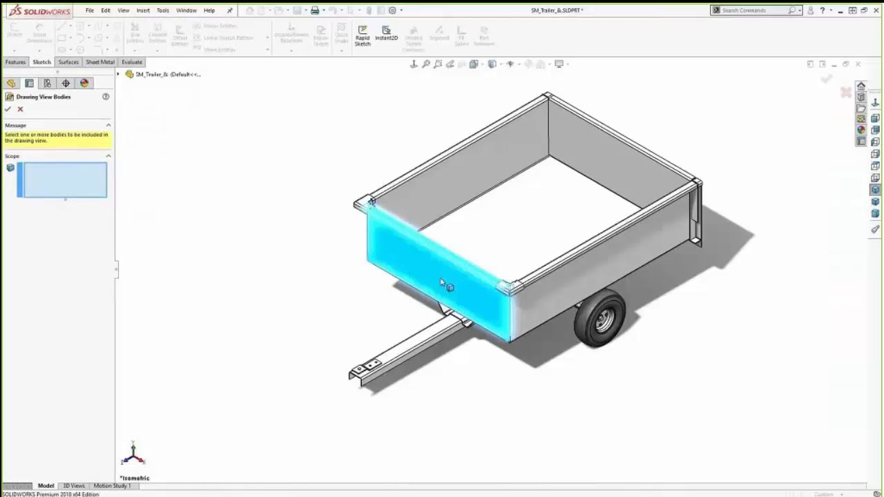 SOLIDWORKS Benefits for Metal Fabrication - Sheet Metal and Weldments  webcast recording