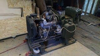 Мотор москвич 408 - Армейский генератор АБ-8М