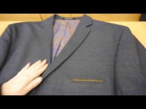 мужской пиджак в стиле casual