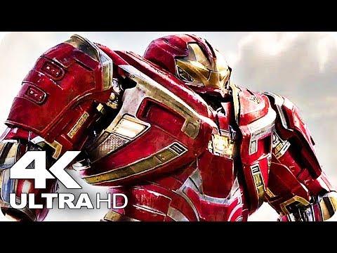 Avengers 3: Infinity War All Trailers 4K Ultra HD (2018)