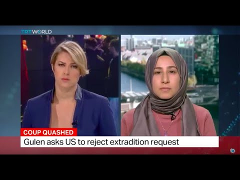 Journalists Arwa Ibrahim discusses Fethullah extradition