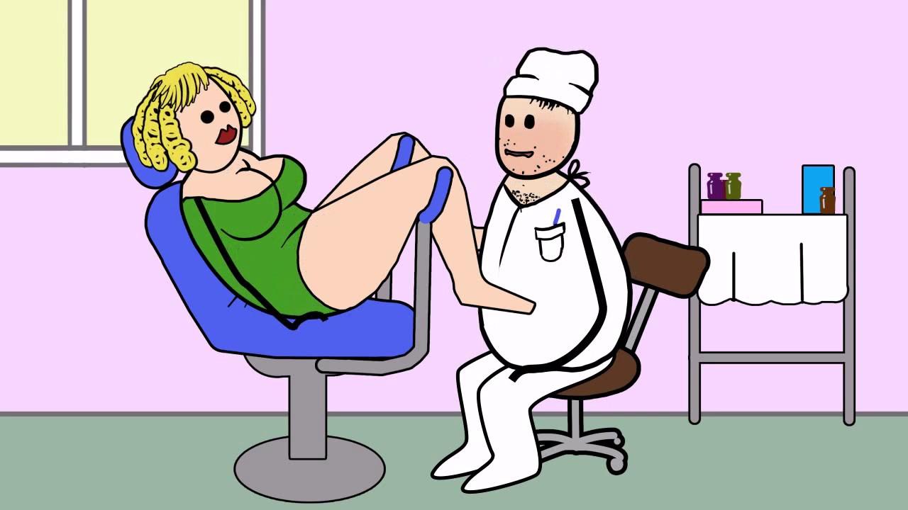у молодого гинеколога