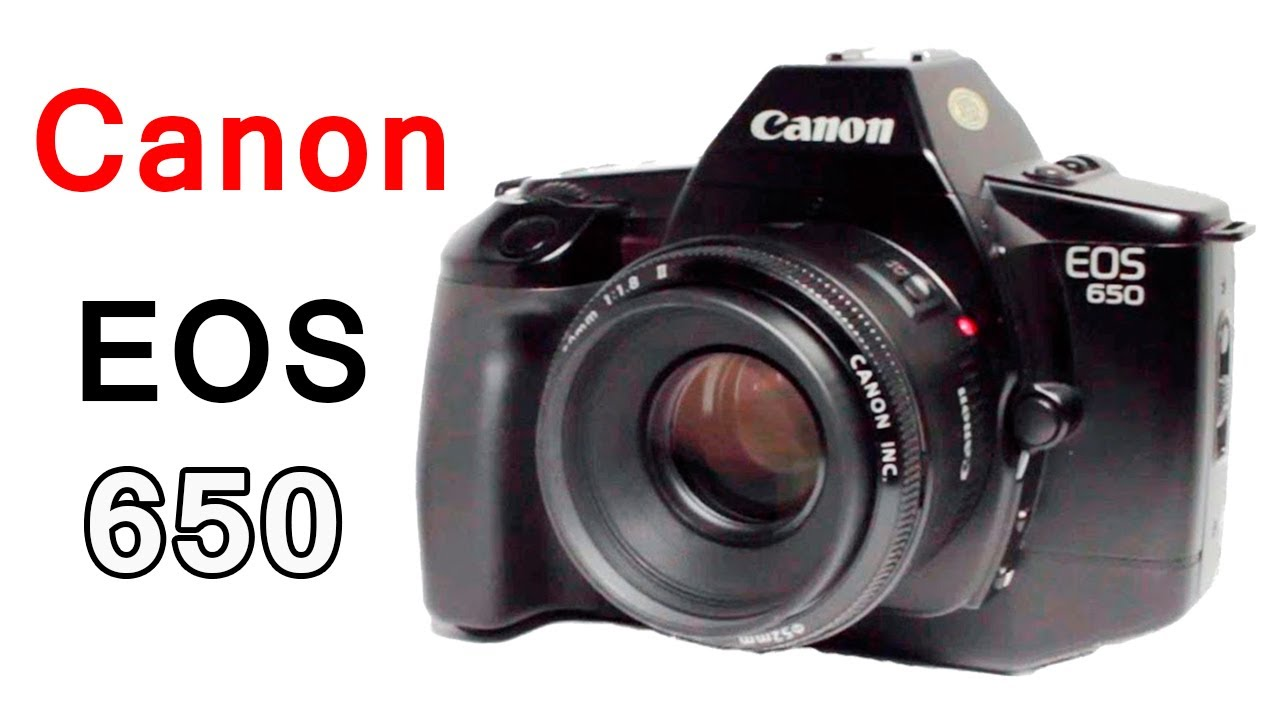 how to use a canon eos 650 slr film camera youtube rh youtube com Canon EOS 100 Canon EOS 700
