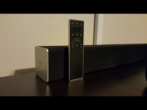 vizio 2.1 sound bar hook up