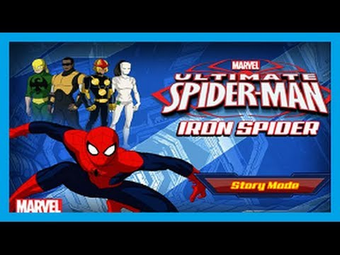 ULTIMATE SPIDERMAN – IRON SPIDER ᴴᴰ – MARVEL SPIDERMAN GAMES